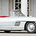 Million euro castle-find Mercedes leads the pack at Bonhams Spa Classic Sale