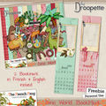 <b>Freebie</b> BookMark ** Marque Page