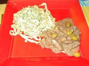 recettes  Rôti de veau roulé aux herbes sauvages