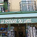 LE POTAGER DU LIVRE Versailles Yvelines librairie