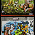 Sekel graffiti art