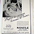 NESTLE BEVE <b>BERCEAU</b> PUBLICITE ANCIENNE AL 51
