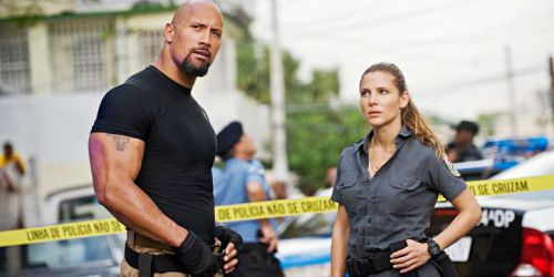 The Rock et Elsa Pataky