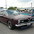 PLYMOUTH <b>Barracuda</b> 340S fastback coupé 1969