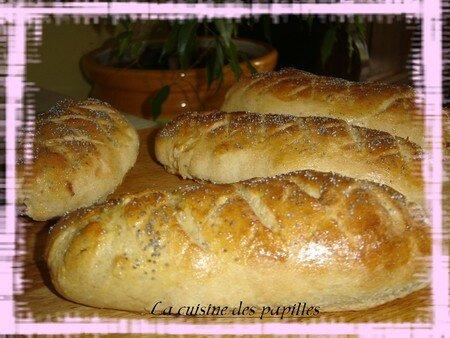 recettes legumes  Pain à la farine de kamut