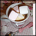 <b>Chocolat</b> chaud aux Marshmallows.