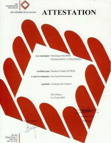 formations - cv