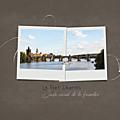Pont Charles Prague et Flora