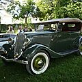 <b>FORD</b> Model 40 V8 phaëton Deluxe 1934