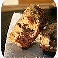 Brookies : 50% cookie + 50% <b>brownie</b> = 100% plaisir !