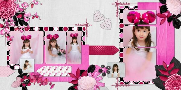 Scrap Talou - template 1 pack 13 - kit Prettty Pink de Scrap Angie - photo Nounou