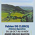 EXPOSITION DU PEINTRE <b>FABIEN</b> DE CLERCQ
