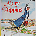 Livre Ancien ... MARY POPPINS (1966) * <b>Walt</b> <b>Disney</b>