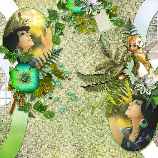 Flomelle_Template3_Pack6 - kit de Talou - promenade dans mon jardin - photo Pixabay