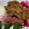<b>Beef</b> Rendang - Malaysian Spicy <b>Beef</b> 