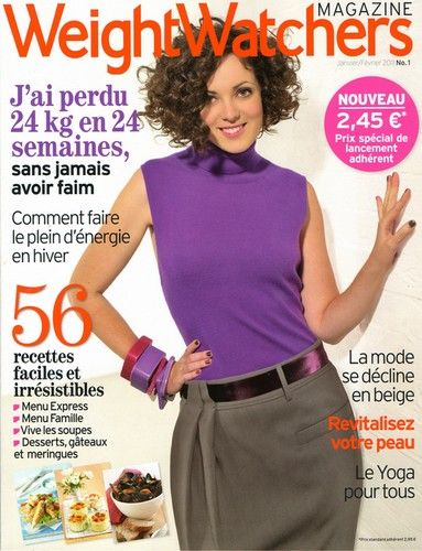 ebooks gratuit weight watchers magazine janvier fevrier 2011. Black Bedroom Furniture Sets. Home Design Ideas