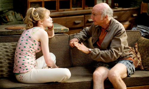 Evan Rachel Wood et Larry David