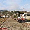 Le train de <b>Noël</b> de l'ACPR Toulouse-Quillan annulé, la BB 8627 sauvegardée