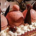 La <b>bûche</b> tout chocolat
