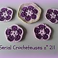 <b>Serial</b> <b>Crocheteuses</b> n° 211 : Be Happy !!!