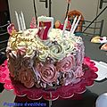 Rose Cake - Damier, cupcakes aux <b>myrtilles</b>, cocktail Cendrillon