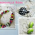 La Grenouille Rose, <b>Fileuse</b> de <b>verre</b> de talent
