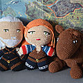 #Crochet : The witcher, Personnages de Base by Celenaa