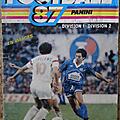 Album ... Football <b>Panini</b> 1987