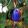 DIY <b>Boules</b> de <b>Noël</b> qui brillent...