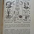 ancienne recette de <b>salades</b> en 1900