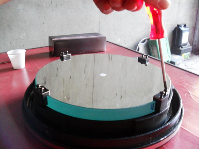 Reportage photo nettoyage d 39 un miroir de t lescope for Nettoyer miroir telescope