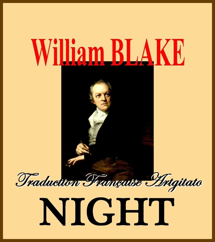 Night William Blake par Thomas Phillips Traduction Artgitato française Nuit