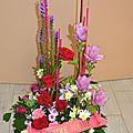 fleurs pour <b>deuil</b>