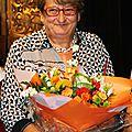 Soirée des bénévoles - 15/09/2014 - la bonne volonté récompensée, Brigitte et Michel Pinier à l'honneur