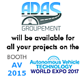Meet us at the Autonomous Vehicle Technology World <b>Expo</b>!