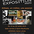 Exposition photo Saint <b>Pée</b> sur Nivelle