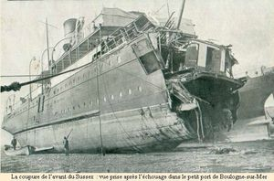 Ferry_Sussex_torpedoed_1916