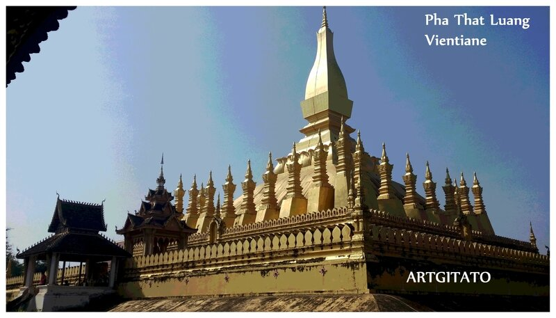 Pha That Luang Vientiane Artgitato 6