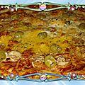 Pizza œufs/saucisses <b>cocktails</b>