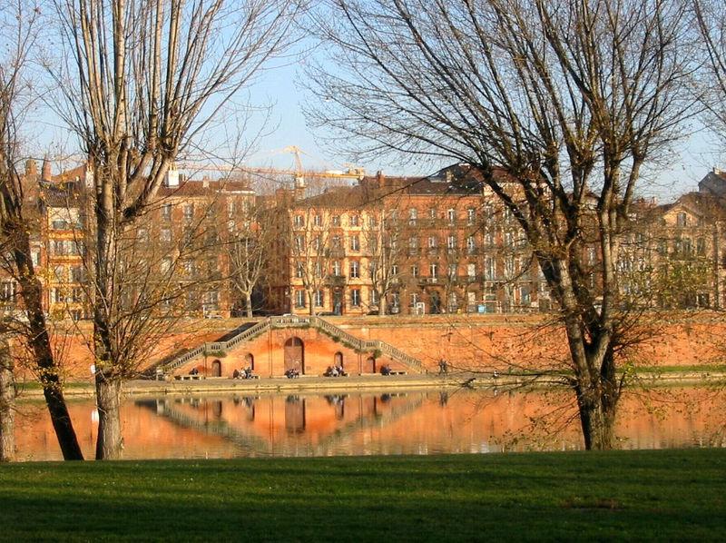quai de Tounis à Toulouse