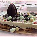 Gâteau de Pâques pour le défi NESTLE <b>DESSERT</b>.......