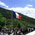 2ème cérémonie du 70ème anniversaire du massacre d'Izon la Bruisse