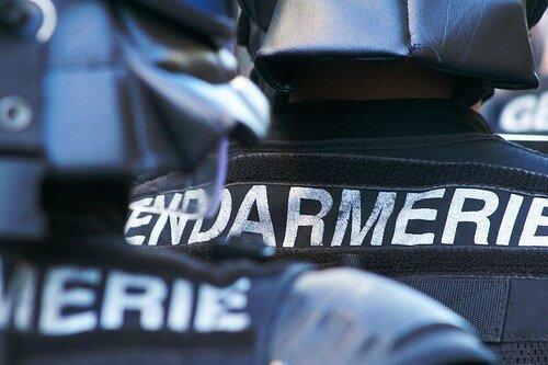 Gendarmerie mobile dossards