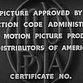 ֎ [XX°s] Petit détail de l'histoire du <b>cinéma</b>... Le Code Hays