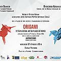 EXPOSITION origami