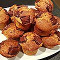 Les muffins vengeurs à la pistache et au chocolat