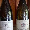 <b>Châteauneuf</b> du Pape : Domaine de La Mordorée : Reine des Bois 2005 et domaine Charvin 2006