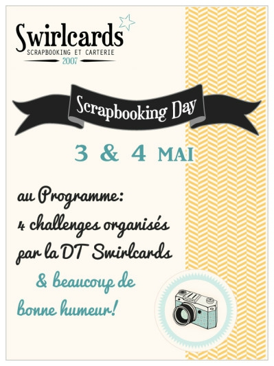 affiche scrapbooking day