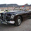 FIAT 1500 <b>cabriolet</b> Stabilimenti Farina 1949