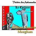 W. SOMERSET MAUGHAM (LE CYCLONE - THE SACRED FLAME) LE GRAND SACRIFICE